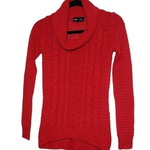 Seductions Turtle Neck  - Red